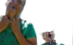 Biểu tình kiểu 'kinh dị xác sống' ở Brazil
