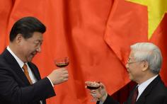 Ông Tập Cận Bình chúc mừng Tổng bí thư Nguyễn Phú Trọng