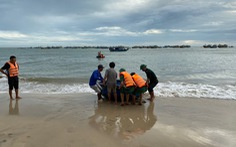 Tìm thấy thi thể du khách còn lại ở biển Kê Gà