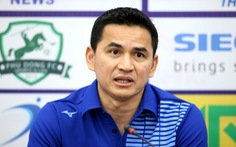 HLV Kiatisak: 'Hàng thủ là điểm yếu của Hoàng Anh Gia Lai'