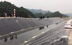 Thông dòng kênh thủy lợi 4.300 tỉ bị vỡ