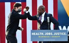 Bầu cử Thượng viện Mỹ ở Georgia: Ứng viên Dân chủ thứ 2 tuyên bố chiến thắng