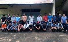 Triệt phá trường gà tại Đồng Nai, bắt giữ 22 con bạc từ nhiều tỉnh thành