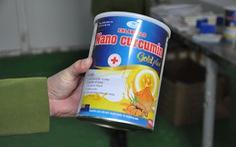 Phát hiện kho sữa 'khủng' nguyên liệu Trung Quốc với đủ nhãn mác trong một nhà máy