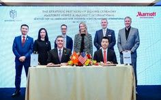 Hai 'ông lớn' hợp tác phát triển bất động sản hàng hiệu tại Việt Nam