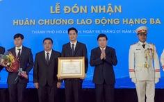 Sở Giao thông vận tải TP.HCM đón nhận Huân chương Lao động hạng 3