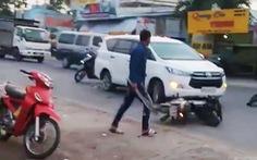 Bắt nhóm thanh niên hỗn chiến trên quốc lộ 61 khiến 1 người chết