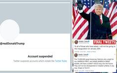 Tổng thống Trump muốn lập mạng xã hội riêng sau khi tố bị Twitter 'bịt miệng'