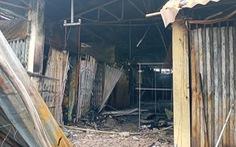 Tiền Giang: Chợ Cái Nứa cháy lớn lúc rạng sáng