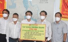 Phương Trang trao tặng trang thiết bị y tế phòng dịch cho An Giang hơn 50 tỉ đồng