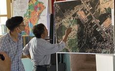 Đối thoại vụ người dân treo băng rôn phản ứng dự án khu phố chợ gây ngập