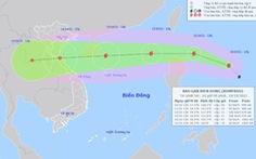 Bão số 7 suy yếu, đi vào đất liền Hải Phòng - Thanh Hóa , bão Kompasu di chuyển rất nhanh