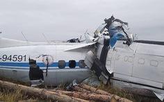 Máy bay rơi ở Nga, 15 người chết