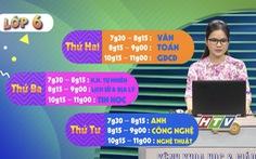 TP.HCM: Học sinh lớp 6 và lớp 9 có thể học trên truyền hình từ ngày mai