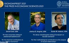 Nobel Kinh tế được trao cho 3 người Mỹ