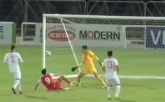 U22 Việt Nam hòa U22 Tajikistan 1-1 tại UAE