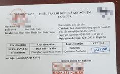 Bắt giữ 4 người buôn bán giấy xét nghiệm COVID-19 giả tại Phan Thiết