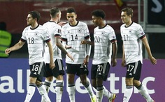Thắng đậm Bắc Macedonia, Đức thành đội đầu tiên vượt qua vòng loại World Cup 2022