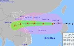 Bão số 8 hướng vào Thanh Hóa - Quảng Bình, suy yếu trước khi đổ bộ