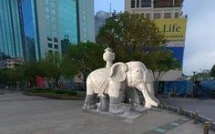 Không có chuyện đặt tượng voi đá ở phố đi bộ Nguyễn Huệ