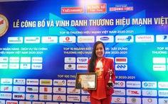Techcombank được vinh danh trong Top 10 thương hiệu mạnh Việt Nam 2021