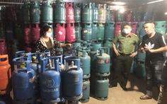 Hải Dương triệt xóa cơ sở sang chiết hàng trăm tấn gas lậu