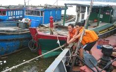 Quảng Bình cấm ra biển, xét nghiệm COVID-19 100% ngư dân từ biển vào bờ tránh bão