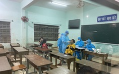 Quảng Nam: Phát hiện ổ dịch ở huyện miền núi Phước Sơn, nhiều ca bệnh là học sinh