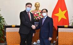 Bộ trưởng Bộ Ngoại giao Bùi Thanh Sơn tiếp Đại sứ Cộng hòa Ba Lan tại Việt Nam