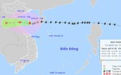 Bão số 8 đã vào biển phía Bắc Việt Nam, gió giật cấp 11, sẽ suy yếu thành áp thấp nhiệt đới