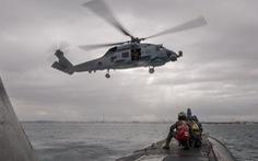 Trực thăng săn ngầm của Úc rơi xuống biển Philippines