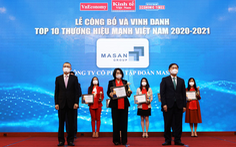Masan Group được trao tặng danh hiệu top 10 Thương hiệu mạnh Việt Nam 2021