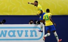Neymar tỏa sáng giúp Brazil 'nhấn chìm' Uruguay