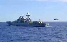 Nga và Trung Quốc tập trận hải quân chung ở biển Nhật Bản