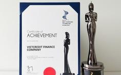 VietCredit được vinh danh 'Nơi làm việc tốt nhất châu Á'
