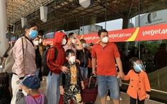 3 chuyến bay liên tiếp từ TP.HCM đưa người dân Quảng Ngãi về quê miễn phí