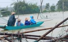 Miền Trung 3 người chết và mất tích, mưa tầm tã kéo dài đến ngày mai