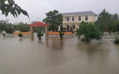 9 người chết và mất tích, hơn 80 xã, phường ở miền Trung bị ngập lụt