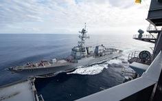 Trung Quốc chỉ trích Mỹ, Canada đưa tàu chiến qua eo biển Đài Loan