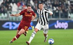 Bị trọng tài từ chối bàn thắng, Mourinho và AS Roma thua sát nút Juventus