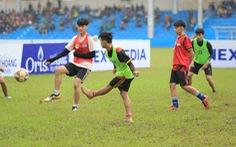 Sôi động chương trình tuyển chọn tài năng trẻ của Hòa Bình FC