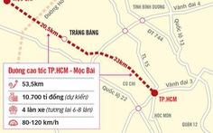 Đề xuất xây dựng đường cao tốc TP.HCM - Mộc Bài