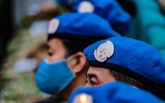 Chủ tịch nước: Chiến sĩ 'mũ nồi xanh' đại diện cho Việt Nam yêu hòa bình, vì hòa bình
