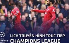 Lịch trực tiếp Champions League: Atletico Madrid- Liverpool, PSG - Leipzig