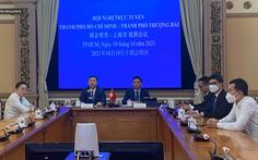 TP.HCM và Thượng Hải hợp tác xây dựng trung tâm tài chính quốc tế