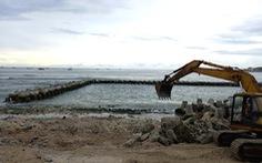 Đảo Lý Sơn khoanh biển làm hồ bơi