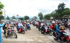 3 tỉnh phối hợp dẫn đường đưa gần 3.000 người dân Ninh Thuận về quê