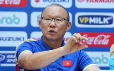 HLV Park Hang Seo có thể gắn bó với đội tuyển Việt Nam đến ngày 31-1-2023