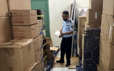 Phát hiện gần 10.000 khẩu trang nghi hàng giả trong khuôn viên Hội Chữ thập đỏ Việt Nam