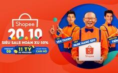 Đại tiệc hoàn xu lên đến 50% mở màn tháng siêu ưu đãi trên Shopee